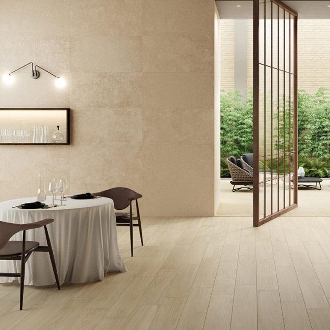 Room Italon –  камень, дерево и текстура в одной коллекции