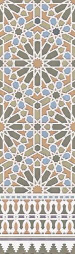 Aparici ALHAMBRA Апариcи АЛХАМБРА 29.75х99.55 см AP-03773