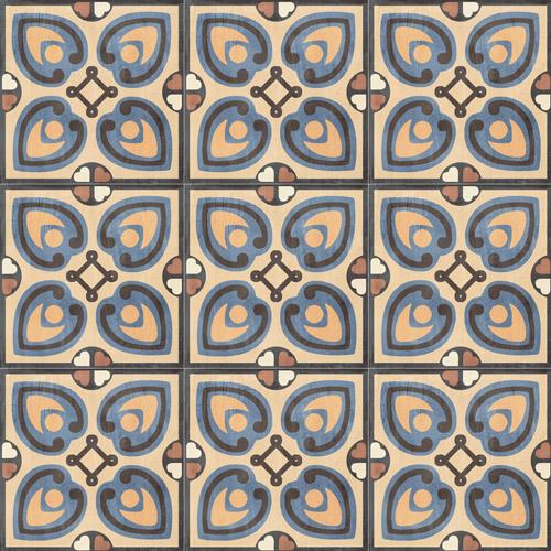 Sant Agostino PATCHWORK COLORS Сант Агостино ПЭЧВОРК ЦВЕТНОЙ 20х20 см CSA-PCO0220