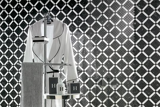 Черно-белая плитка для ванной каталог