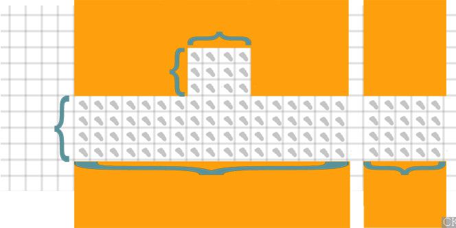 Как рассчитать плитку на фартук кухни