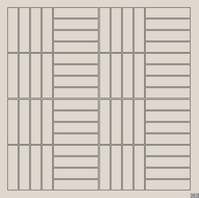 Раскладка плитки под кирпич в современном стиле