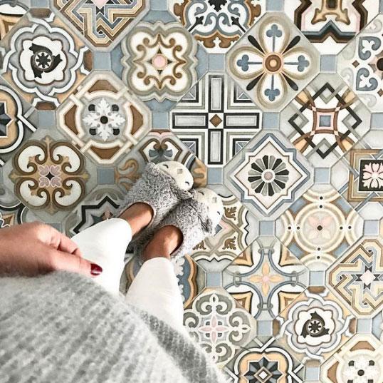 Дизайнерская плитка для пола и стен