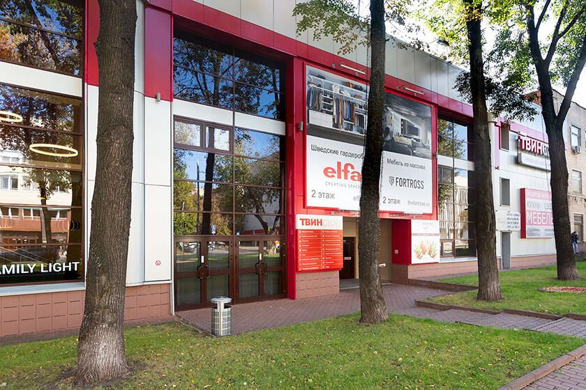 Магазин плитки Италон в центре Москвы