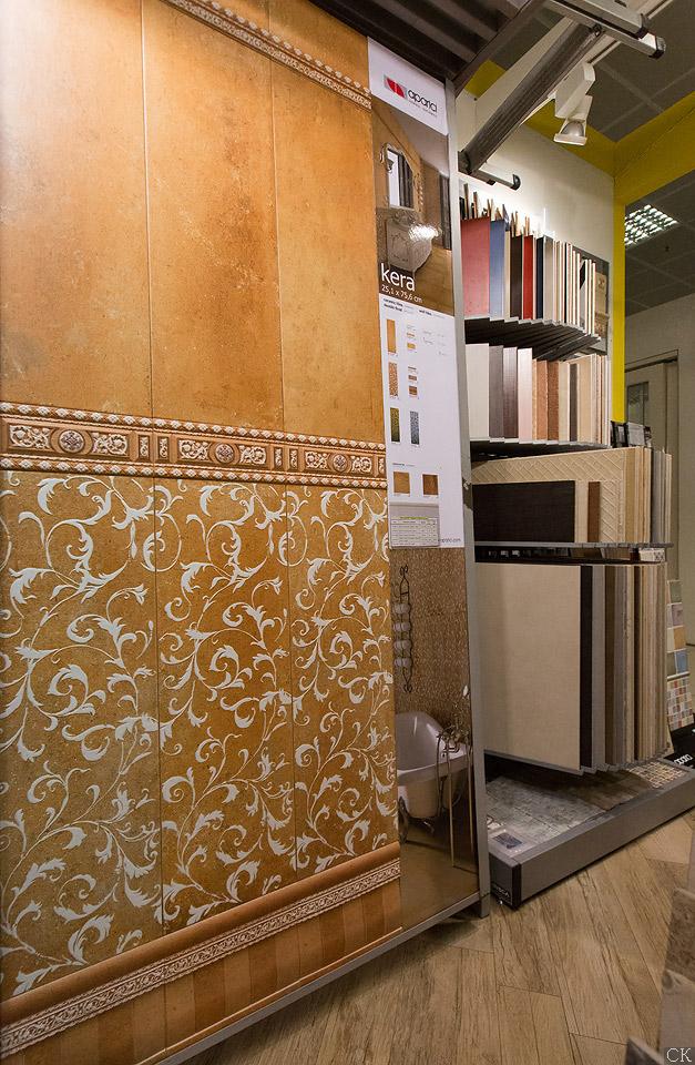 Магазин плитки на Нахимовском . Вид изнутри