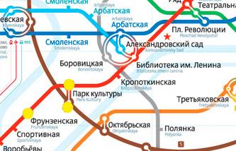 Схема ближайшего метро к магазину плитки в Твинсторе