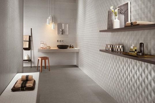 Дизайнерский керамогранит под ткань для стен и пола