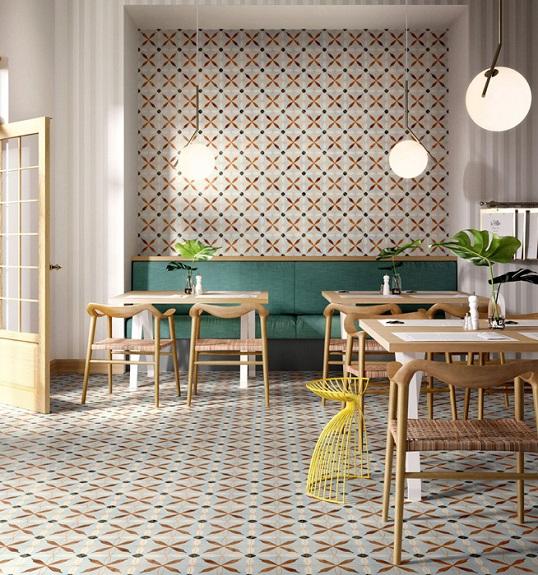 Дизайнерская коллекция ковровой плитки 20х20 см