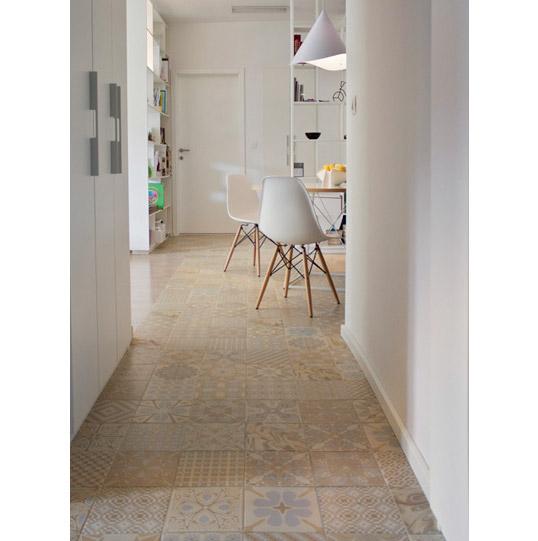 Дизайнерская плитка для пола кухни и коридора