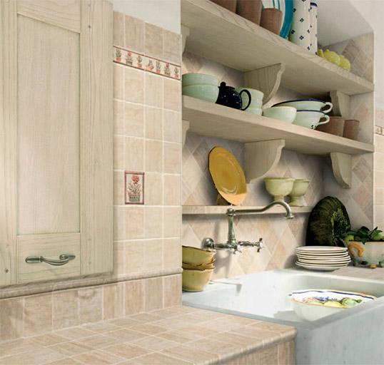 Плитка под камень для кухни
