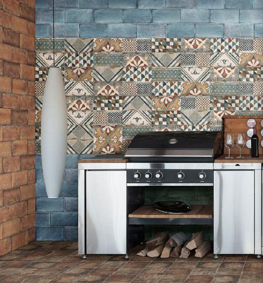 Новая коллекция плитки для кухни в стиле прованс