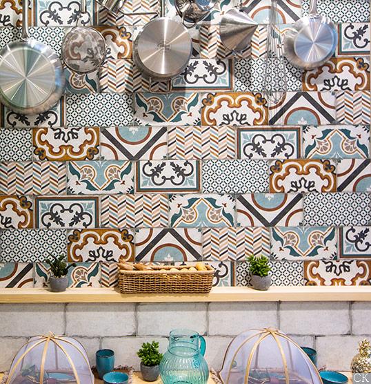 Плитка в стиле пэчворк для кухни и ванной, новинка 2018