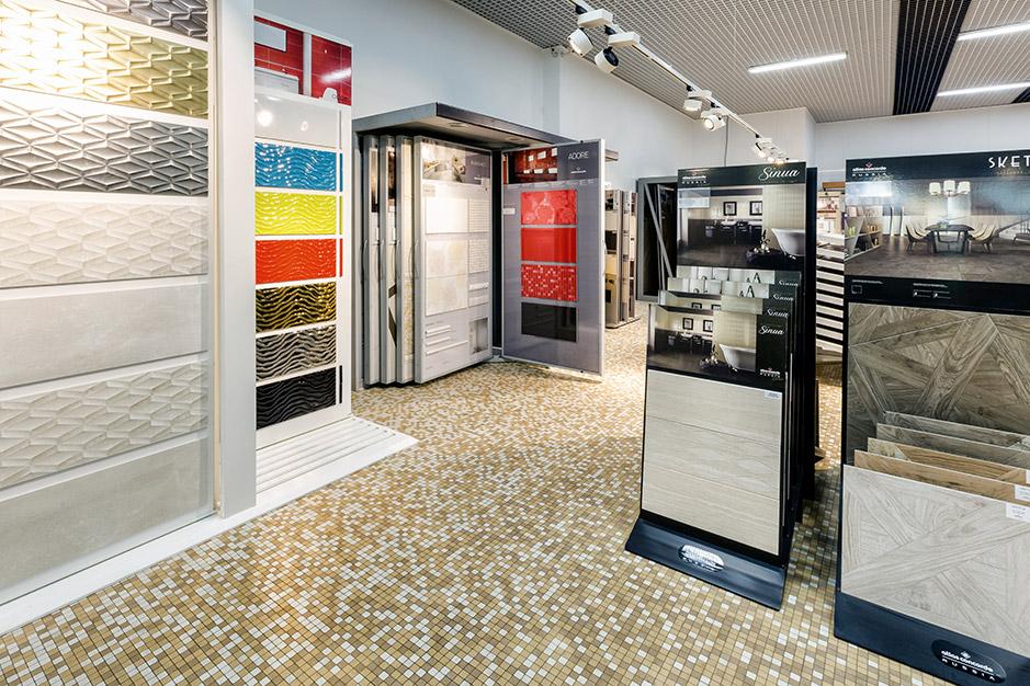 Большой магазин плитки в Москве