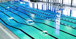 Коллекция H2O фабрики Cerdisa - полная гамма плитки и специальных элементов для бассейна
