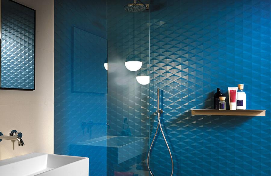 Синяя сатинированная плитка для ванной, новинка!