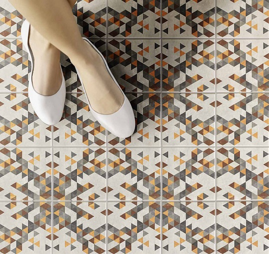 18 различных серий плитки для декорирования ванной и кухни