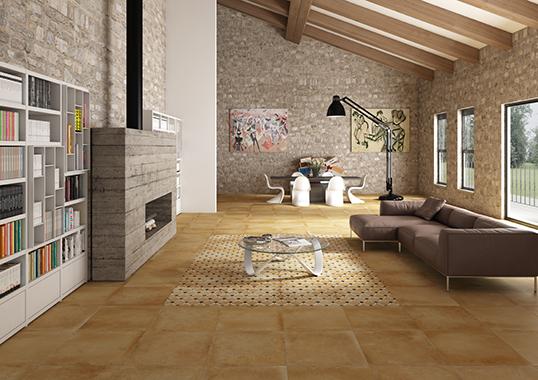 Напольная плитка под камень, Испания