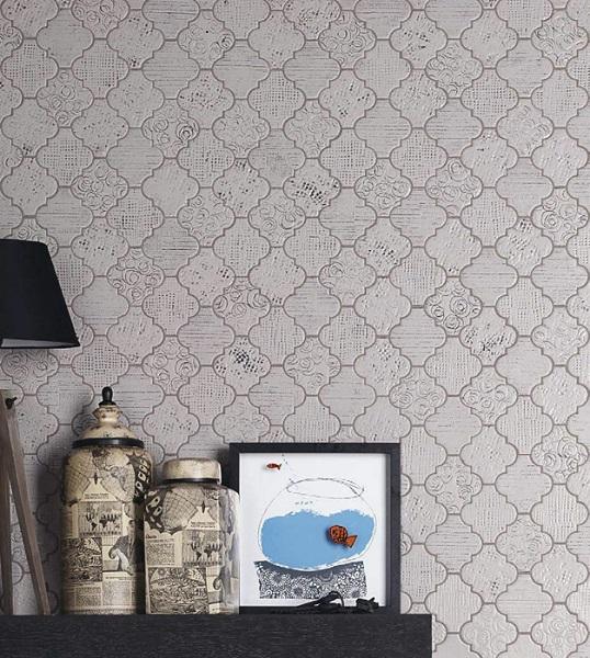 Авангардная плитка для стильной скандинавской ванной комнаты