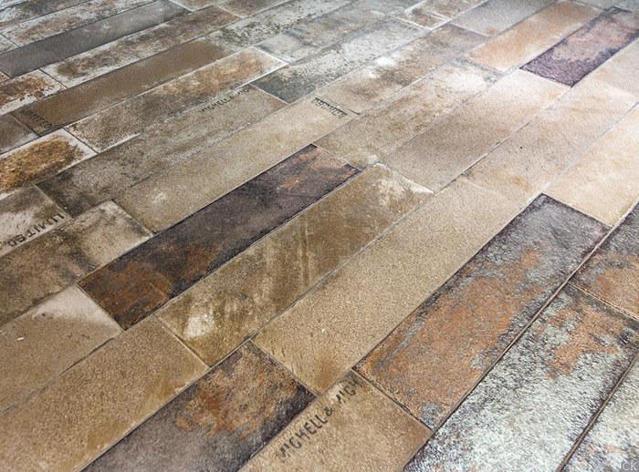Новая коллекция состаренной плитки Aparici Brickwork