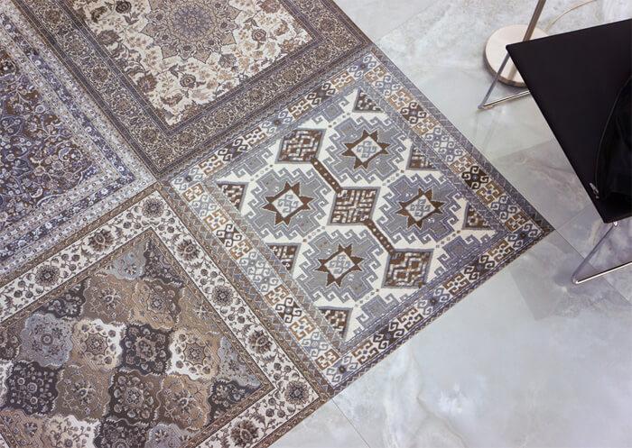 Персидский ковер из плитки – встречайте необычную коллекцию Kilim Aparici