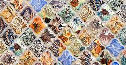 Керамическая плитка Samira Aparici - настенная плитка в восточном стиле