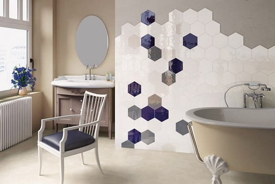 Шестиугольная плитка под керамику ручного изготовления