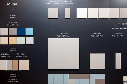 Напольная плитка белого цвета крупного размера, 60х60