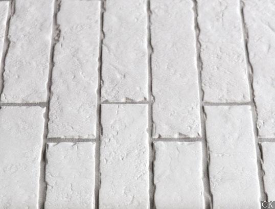 Напольная плитка под белый кирпич