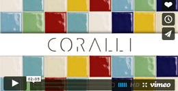Видеопрезентация плитки Coralli фабрики Marca Corona