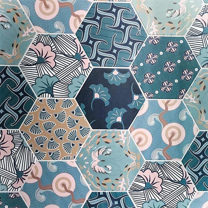 Cevica Good Vibes – шестиугольная плитка сказочной красоты