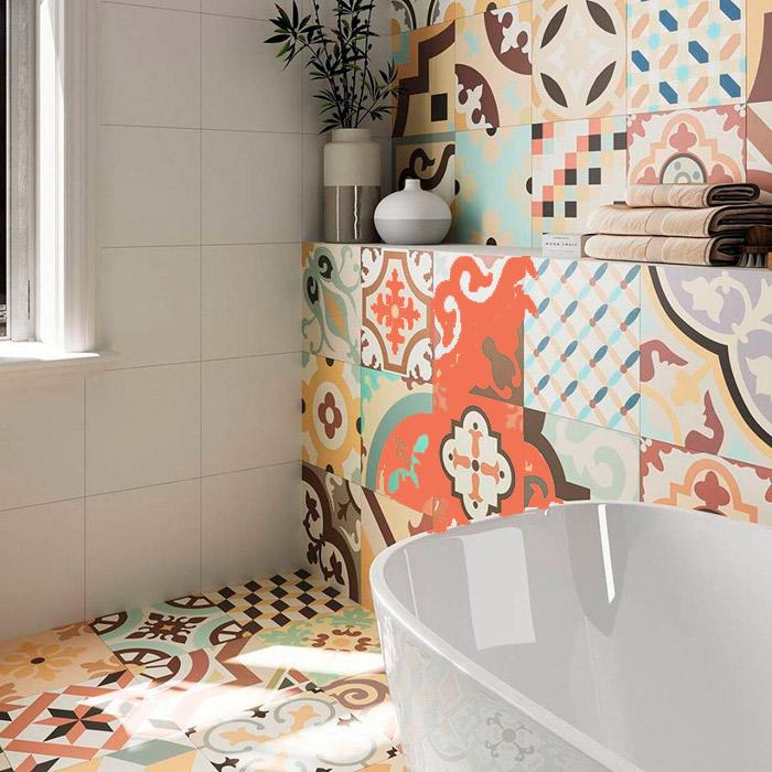 Realonda Hanoi – новая разноцветная плитка для пола и стен