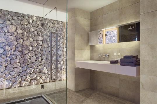 Керамогранит под  натуральный камень для ванной