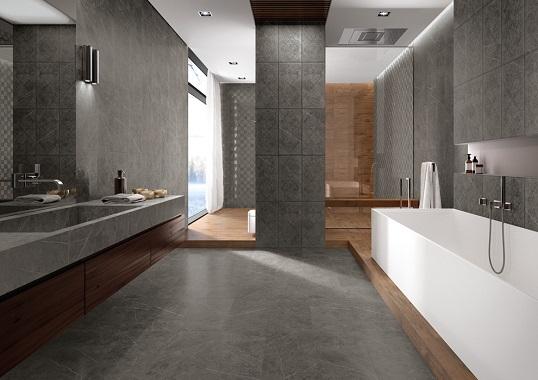 Керамогранит для ванной комнаты, Россия