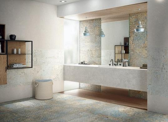Дизайнерский керамогранит для ванной комнаты