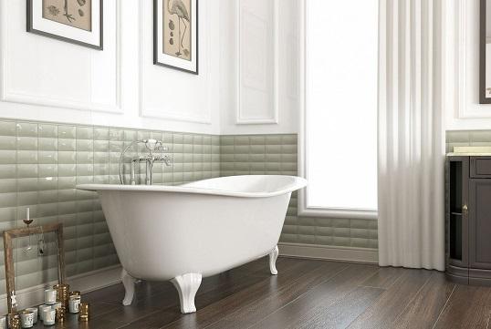 Английская классика для ванной комнаты