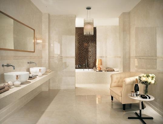 Классическая плитка для ванной, Италия
