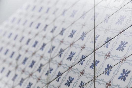 Напольная плитка с орнаментом в средиземноморском стиле, новинка 2018