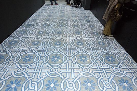 Коллекция бесшовной плитки с орнаментом под итальянские терраццо, новинка 2017