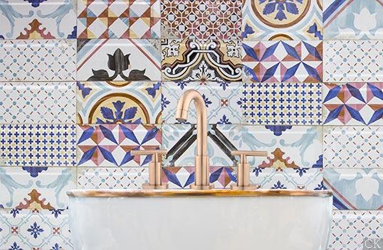 Новая плитка с рисунком пэчворк для ванной и кухни