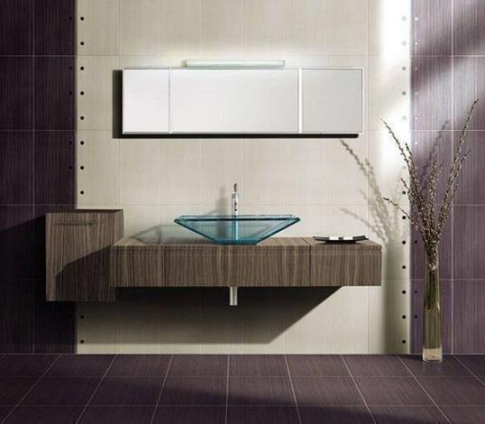 Популярная плитка для ванной с фактурой бамбука
