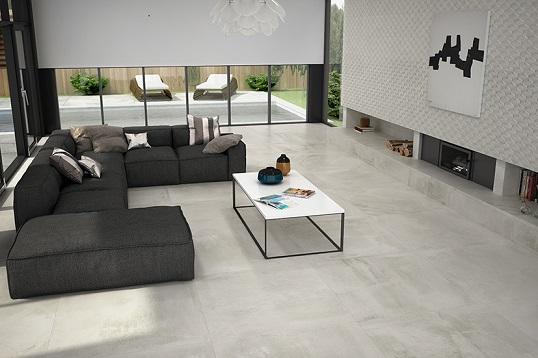 Новая коллекция напольной плитки под прогрунтованый бетон