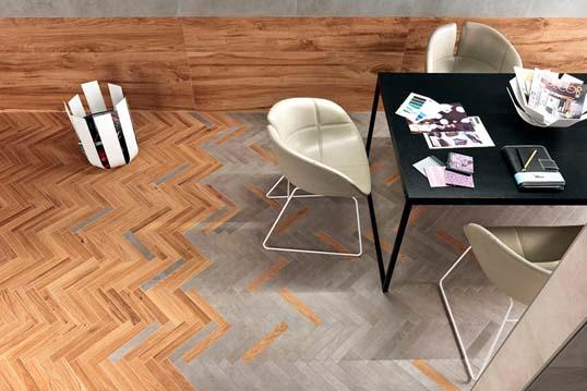 Новинка напольного керамогранита 2015 в стильном оформлении
