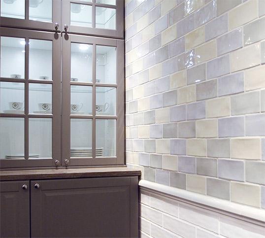 Керамическая плитка под кирпичик для стен