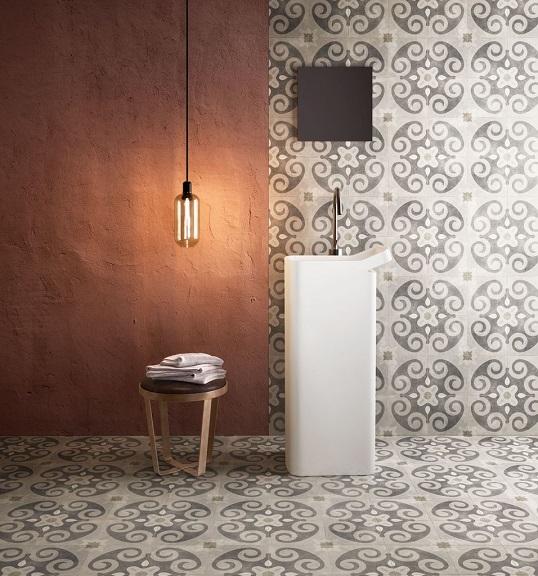 Модная плитка 20х20 см в стиле модерн
