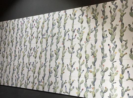 Крупноформатная плитка в стиле поп-арт из Испании, новинка 2018