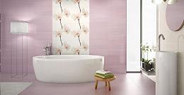 Новая коллекция плитки Cinca Pasadena с нежными цветами