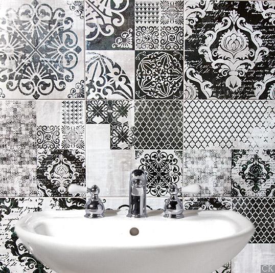 Новая коллекция плитки для ванной 2016 в стиле ардеко