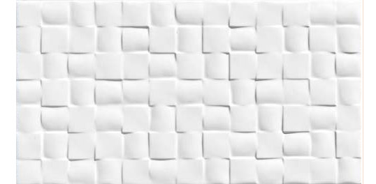 Белая плитка под мозаику