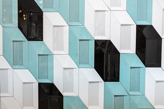 Настенная шестиугольная плитка