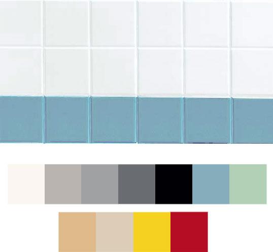 11 цветов плитки 10х10 см для ванной комнаты